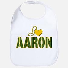 I love Aaron Bib