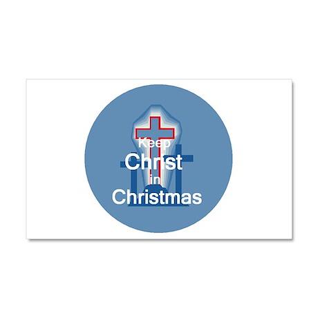 Keep Christ Car Magnet 20 x 12