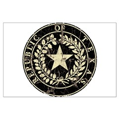 Republic of Texas Seal Distre Posters