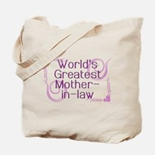 World's Greatest Mother-in-Law Tote Bag