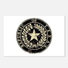 Republic of Texas Seal Distre Postcards (Package o