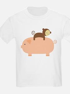 Baby Monkey Riding Backwards T-Shirt