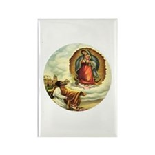 Our Lady of Guadalupe V Rectangle Magnet