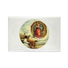 Our Lady of Guadalupe & Juan Diego Rec Magnet
