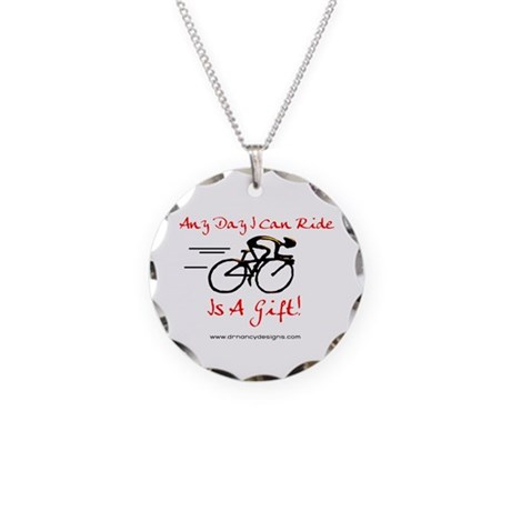 Any Day Necklace Circle Charm