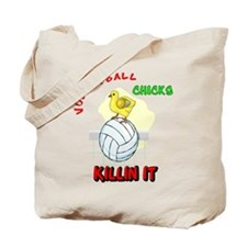 VOLLEYBALL CHICKS Tote Bag