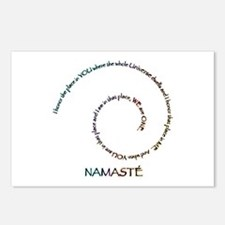 Meaning of Namaste Postcards (Package of 8)