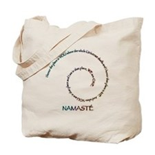 Meaning of Namaste Tote Bag
