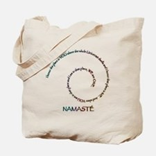 Meaning of Namaste Tote Bag
