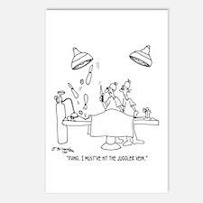 Juggler Vein Postcards (Package of 8)