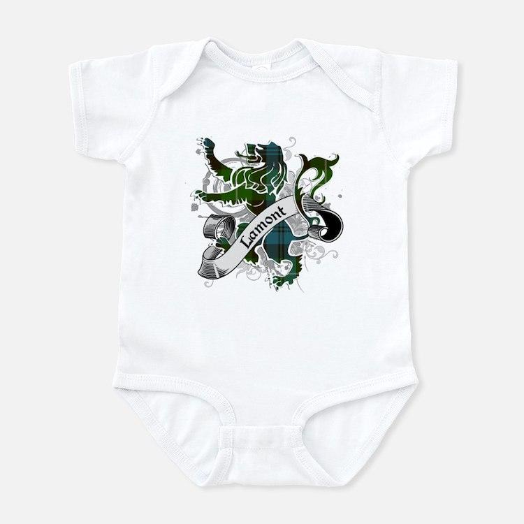 Lamont Tartan Lion Infant Bodysuit