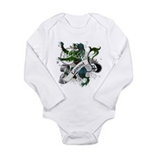 Lamont Tartan Lion Long Sleeve Infant Bodysuit