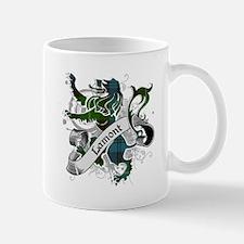 Lamont Tartan Lion Mug