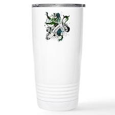 Lamont Tartan Lion Travel Mug