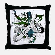 Lamont Tartan Lion Throw Pillow