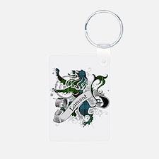 Lamont Tartan Lion Keychains