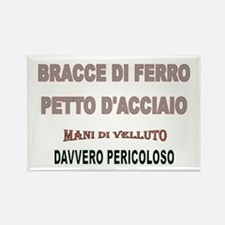 BRACCE DI FERRO Rectangle Magnet