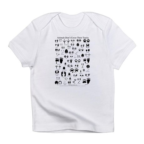 North American Animal Tracks Infant T-Shirt