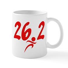 Red 26.2 marathon Mug