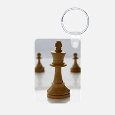Chess Aluminum Photo Keychain