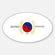 AFJ Instructor Sticker (Oval)