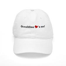Geraldine loves me Baseball Cap