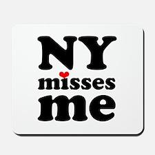 new york misses me Mousepad