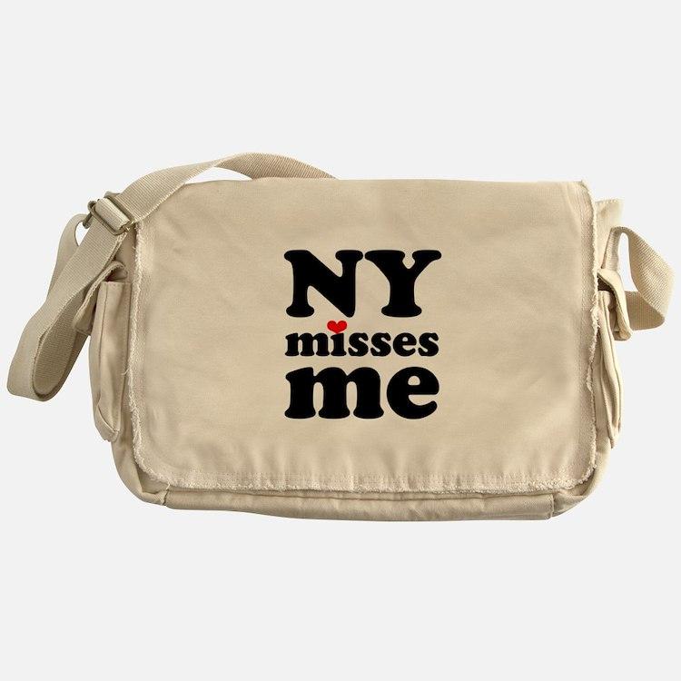 new york misses me Messenger Bag
