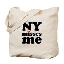 new york misses me Tote Bag