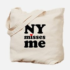 new york misses me Tote Bag