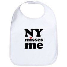 new york misses me Bib