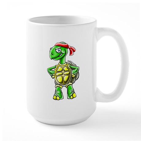 Ninja Turtle Tortoise Large Mug