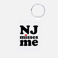 new jersey misses me Keychains