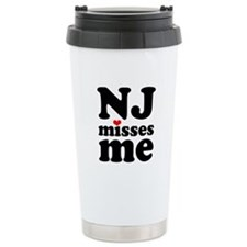 new jersey misses me Stainless Steel Travel Mug