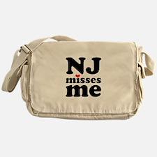 new jersey misses me Messenger Bag