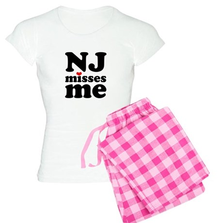 new jersey misses me Women's Light Pajamas