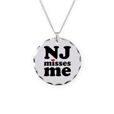 new jersey misses me Necklace