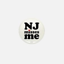 new jersey misses me Mini Button (10 pack)