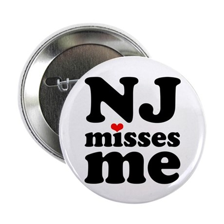 """new jersey misses me 2.25"""" Button (10 pack)"""