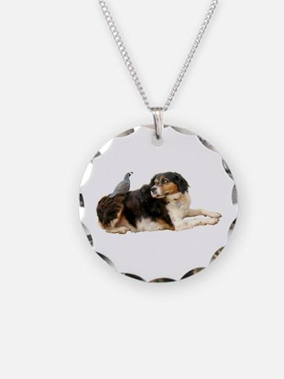 Quail Dog Necklace