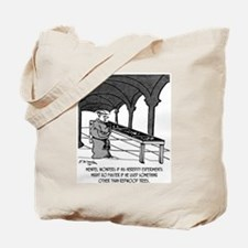 Mendel Studies Redwoods, Not Peas Tote Bag