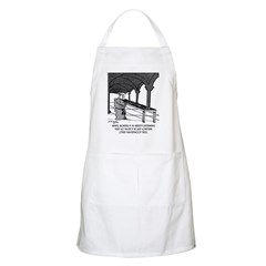 Mendel Studies Redwoods, Not Peas Apron