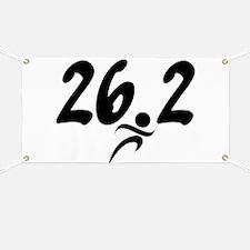 26.2 Marathon Banner