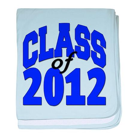 Class of 2012 baby blanket
