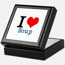 Cute I heart soup Keepsake Box