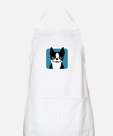 Boston Terrier Smile Apron