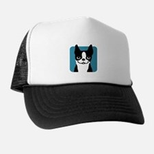 Boston Terrier Smile Trucker Hat