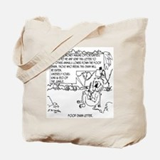 Food Chain Letter Tote Bag