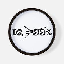 IQ = 99 Wall Clock