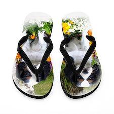 king charles spaniel Flip Flops